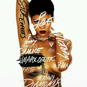 Rihanna's 'Unapologetic' Album Cover Art