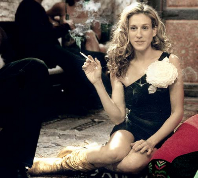 the original Carrie Bradshaw, Sarah Jessica Parker