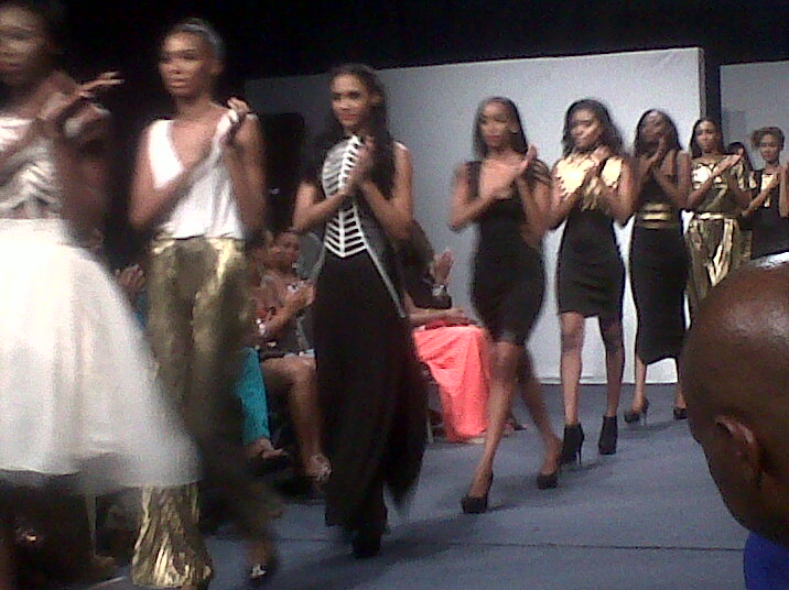 Finale walk of Kesia Estwick's 'Lilith' collection