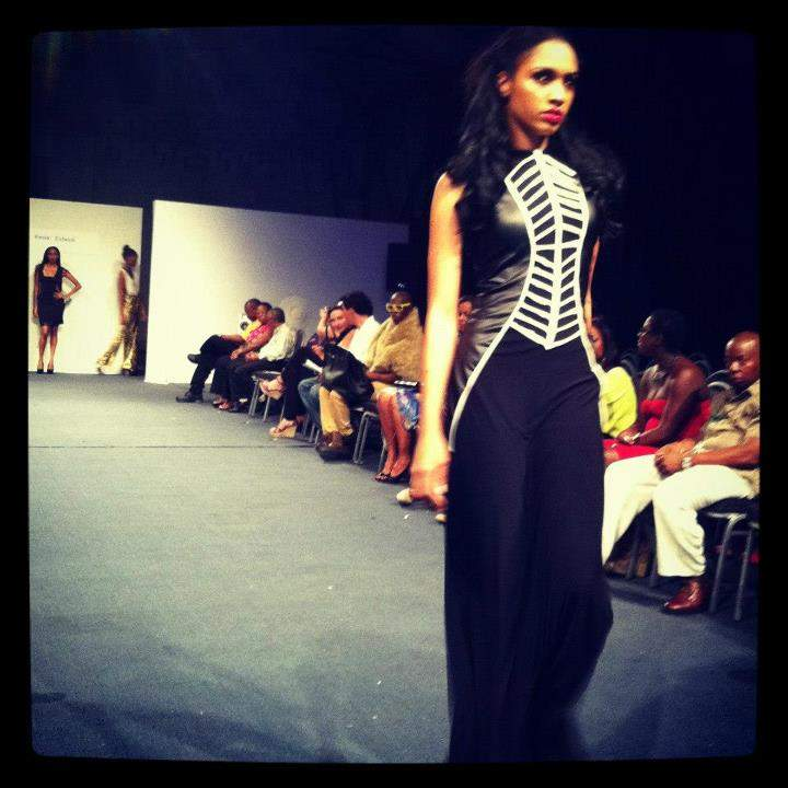 piece by Kesia Estwick, 'Lilith' collection (photo credit: Club Fashion TV)