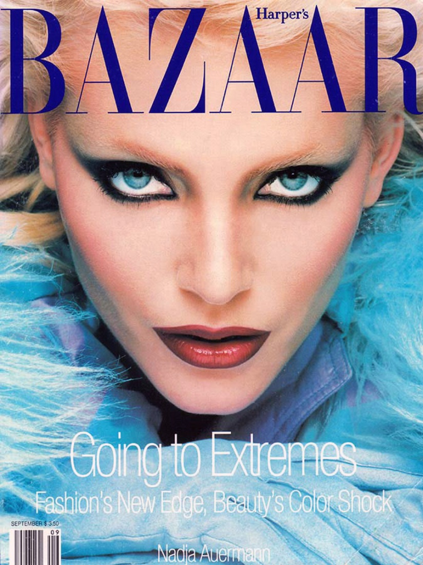 Nadja on Harper's Bazaar September 1994