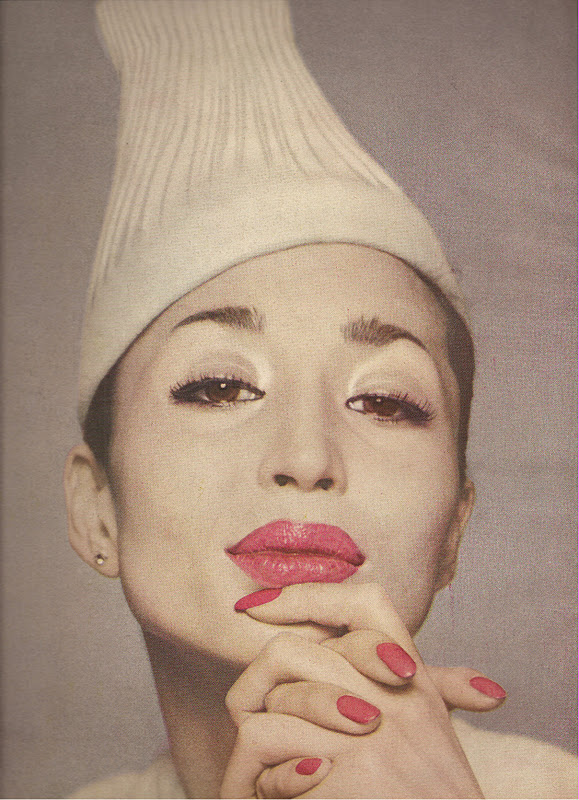 One of Avedon's shots of Machado
